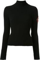 Chanel Pre Owned cashmere 1996 turtleneck jumper