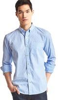 Gap True wash dobby clip standard fit shirt