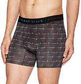Perry Ellis Men's Diamond Axis Luxe Boxer Brief