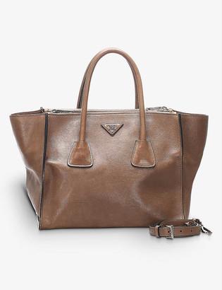 Resellfridges Pre-loved Prada Twin Pocket leather tote bag