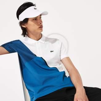 Lacoste Men's SPORT Color-Block Ultra Light Cotton Tennis Polo