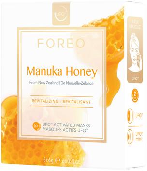 Foreo Manuka Honey Revitalizing UFO Mask for Ageing Skin 6 x 6g