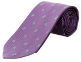 Brooks Brothers Purple Paisley Silk Tie.