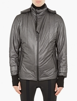 Y-3 Sport Black Padded Parka Jacket