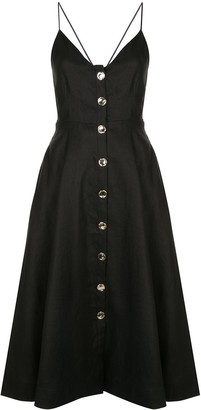 Nicholas Flared Button Dress