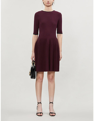 Ted Baker Renyina stretch-knit mini dress
