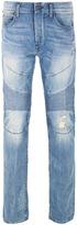 True Religion Geno Lone Rebel Light Blue Relaxed Slim Denim Jeans