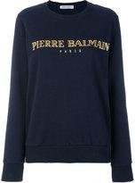 Pierre Balmain logo printed sweatshirt