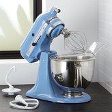 Crate & Barrel KitchenAid ® Artisan Cornflower Blue Stand Mixer