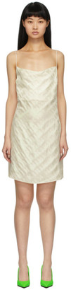 Kirin White Iridescent Sleep Dress