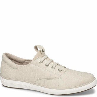 Grasshoppers Women's Janey II Slip-ON Metallic Linen Sneaker