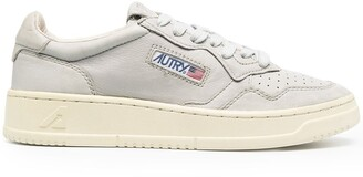AUTRY Low-Top Leather Sneakers
