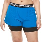 Soybu Plus Size Fixie 2-in-1 Shorts