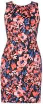 Izabel London *Izabel London Red Floral Print Bodycon Dress