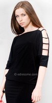 eDressMe Cut Out Shoulder Club Dresses
