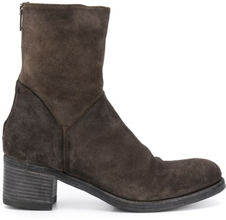 Pantanetti Zip Up Boots