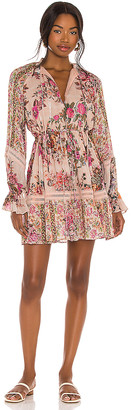 HEMANT AND NANDITA Kilim Mini Dress