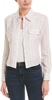 Milly Cropped Button-Up Jacket