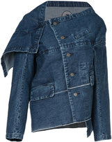 Anrealage deconstructed denim jacket
