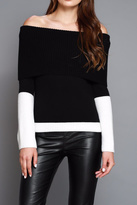 Do & Be Color Block Sweater