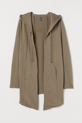 H&M Long Hooded Cardigan