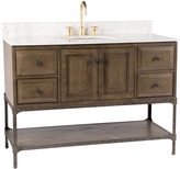 Rejuvenation Industrial Wide Vanity