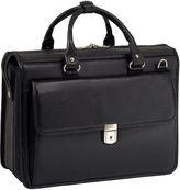McKlein McKleinUSA Gresham 15.6 Leather Litigator Laptop Briefcase