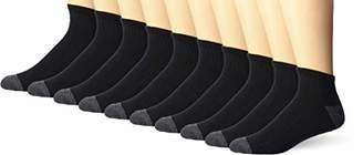 Amazon Essentials 10-pack Cotton Half Cushioned Ankle Socks10-13