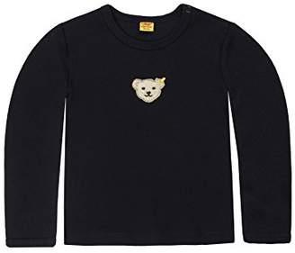 Steiff Baby 0006671 T-Shirt 1/1 Sleeves Blouse, Blue, (Size:62)