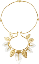 Aurelie Bidermann Talitha mother-of-pearl & gold-plated necklace