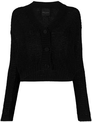 Roberto Collina V-neck knitted cardigan