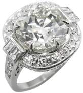 Platinum 5.44ct. Diamond Engagement Wedding Ring