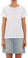 Helmut Lang Women's Rolled-Edge T-Shirt-WHITE