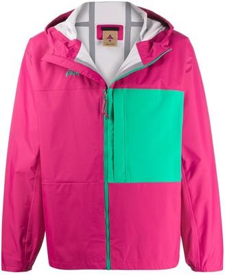 Nike Block Colour Hooded Lightweight Jacket