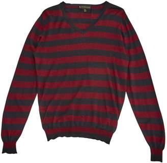 Burberry Burgundy Cashmere Knitwear