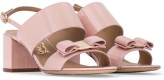 Salvatore Ferragamo Vara Bow patent leather sandals