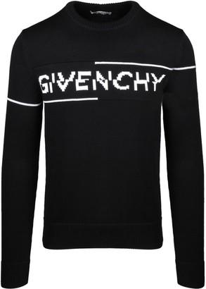 Givenchy Split Print Sweater