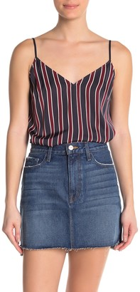 Frame Stripe V-Neck Camisole
