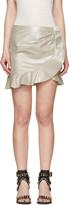 Isabel Marant Silver Luna Miniskirt