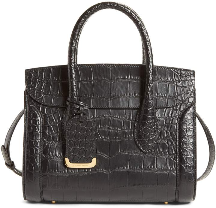 Alexander McQueen Medium Heroine Leather Satchel