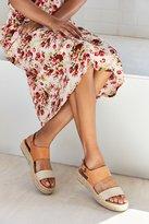 Soludos Bi-Color Platform Espadrille Sandal