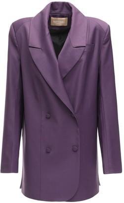 MATÉRIEL Cool Wool Blazer W/ Side Slits