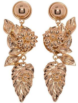 Ashlee Lauren Golden Fiora Earrings