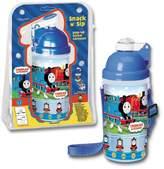 Pecoware Water Bottle - Thomas The Tank - Snack N' Sip Canteen New 00826TT
