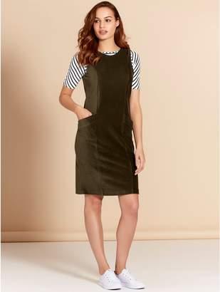 M&Co Cord pocket shift dress