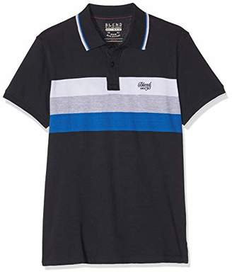 Blend Men's Poloshirt Polo Shirt, (Dark Navy Blue 74645), X-Large