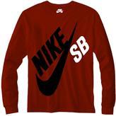 Nike Boy's Big Logo Tee
