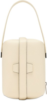 Valextra Tric Trac Grained Leather Bag