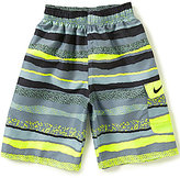 Nike Big Boys 8-20 Tide Striped Swim Trunks