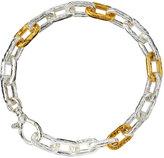 Gurhan Two-Tone Oval-Link Chain Bracelet